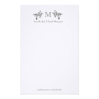 Efectos de escritorio personalizados profesional d papelería de diseño