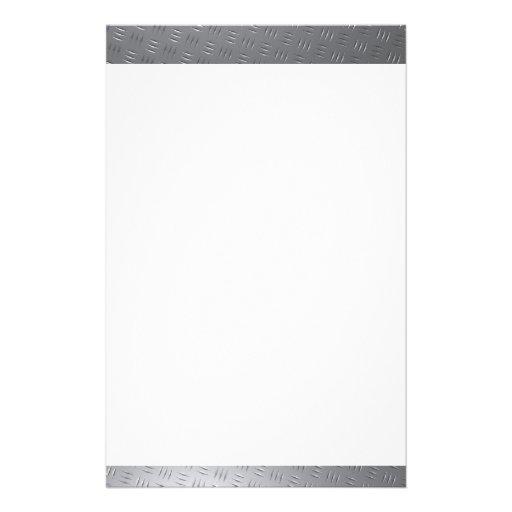 Efectos de escritorio plateados de metal del diseñ  papeleria de diseño