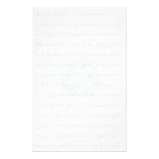 Efectos de escritorio reciclados reutilizados papelería personalizada