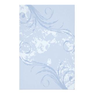 Efectos de escritorio Remolino suavemente azul Papelería Personalizada