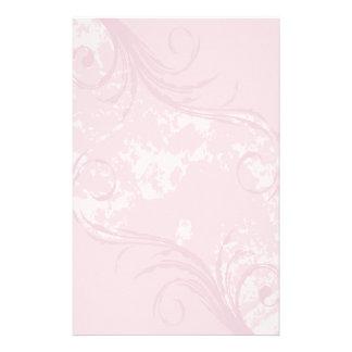 Efectos de escritorio Remolino suavemente rosado Papeleria De Diseño