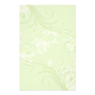 Efectos de escritorio Remolino suavemente verde Papeleria De Diseño