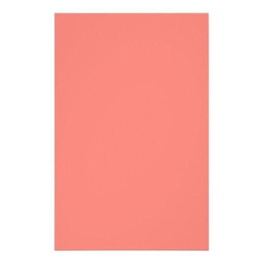 Efectos de escritorio rosados coralinos papeleria