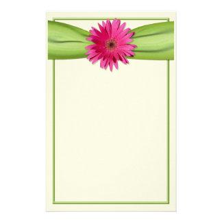 Efectos de escritorio rosados de la cinta del papelería personalizada