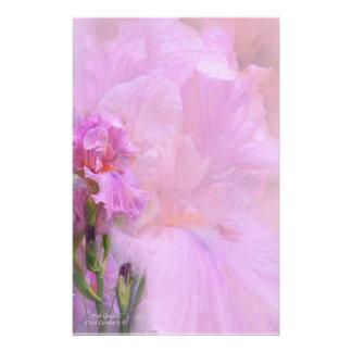 Efectos de escritorio rosados de la diosa papelería