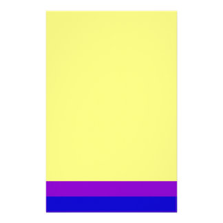 Efectos de escritorio simplemente amarillos papelería