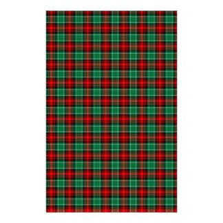 Efectos de escritorio verdes rojos del libro de papeleria personalizada