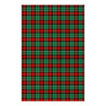 Efectos de escritorio verdes rojos del libro de re papelería personalizada
