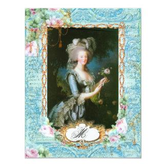 """Efectos de escritorio y tarjetas franceses de invitación 4.25"""" x 5.5"""""""