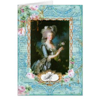 Efectos de escritorio y tarjetas franceses de Mari