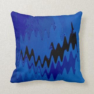 efectos locos azules almohada