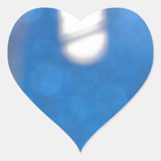 Efectos luminosos blancos azules