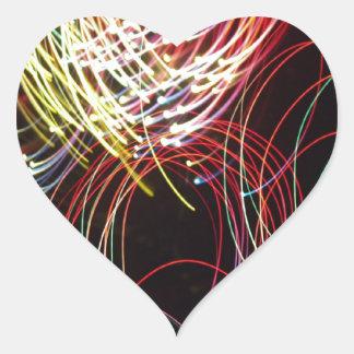 efectos luminosos vo1 pegatina corazon