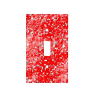 efectos rojos cubierta para interruptor