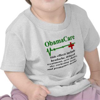 Efectos secundarios de ObamaCare Camiseta