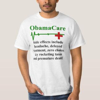 Efectos secundarios de ObamaCare Playera