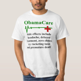 Efectos secundarios de ObamaCare Playeras