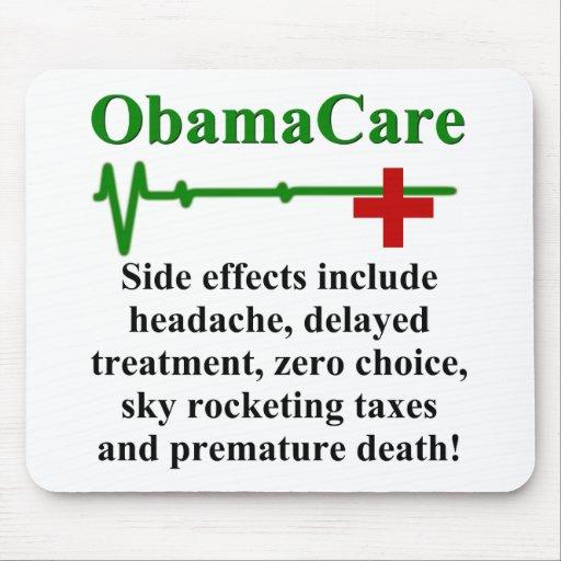 Efectos secundarios de ObamaCare Tapete De Ratones