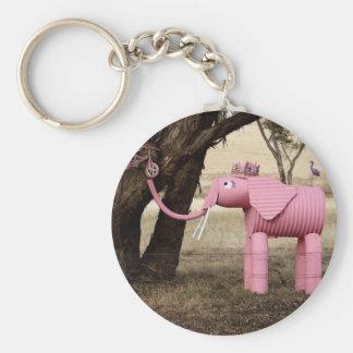 Efervescente el elefante llaveros