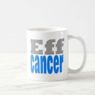 eff cancer blue coffee mug