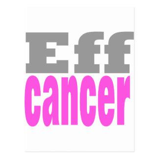 Eff cancer postcard