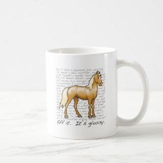 Eff it.  It's glossy. Coffee Mug