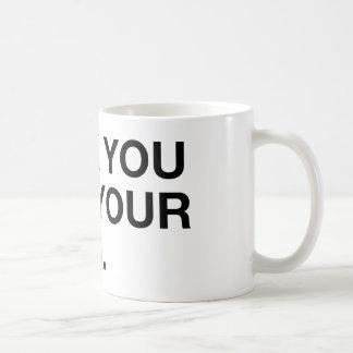 Eff you and you blog coffee mug