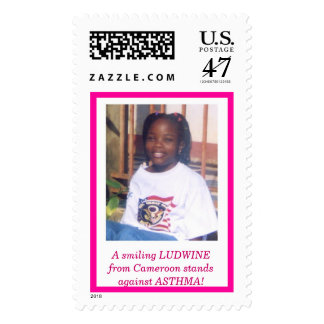 EFFALUDWINE2, A smiling LUDWINE from Cameroon s... Postage