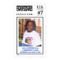 EFFALUDWINE2, Join LUDWINE from CAMEROON to fig... Postage