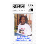 EFFALUDWINE2, Join LUDWINE from CAMEROON to fig... Postage Stamp