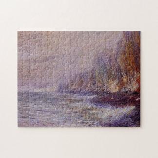 Effect of Fog near Dieppe Monet Fine Art Puzzle