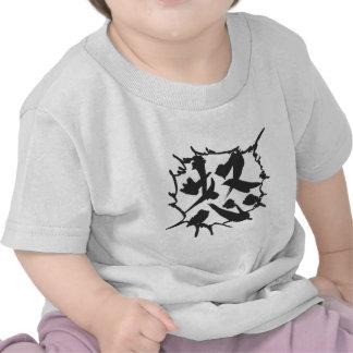 "Effect of Manga ""Anger!"" Tee Shirts"