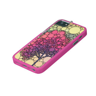 effect tree pink iPhone 5/5S case