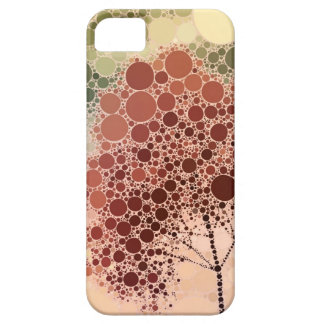 effect tree red iPhone 5 case