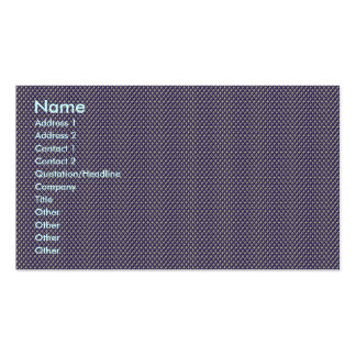 Effective blue flower with sepals on rough grey ba Double-Sided standard business cards (Pack of 100)