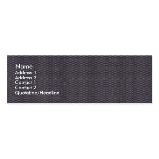 Effective blue flower with sepals on rough grey ba Double-Sided mini business cards (Pack of 20)