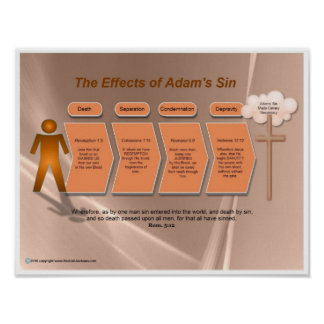 Effects of Adam's Sin Poster