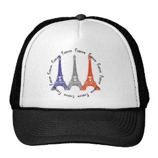 effel tower trucker hat