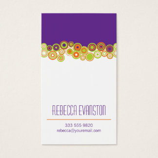 Effervescence Personal Business Card