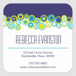 Effervescence Personal Contact Sticker