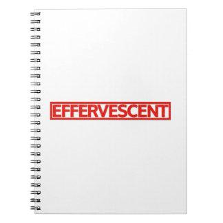 Effervescent Stamp Notebook
