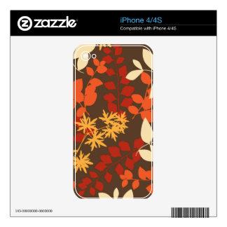 Effervescent Whole Flourishing iPhone 4 Decal