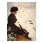 Effet de neige - Giuseppe de Nittis Postcard