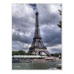 Effiel Tower Postcard