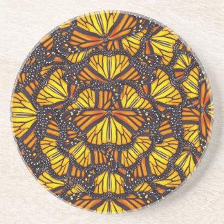 Effie's Butterflies Sandstone Coaster