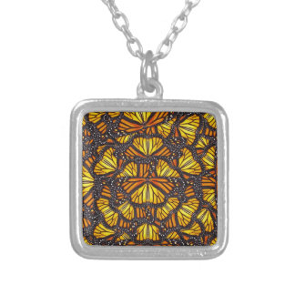 Effie's Butterflies Silver Plated Necklace