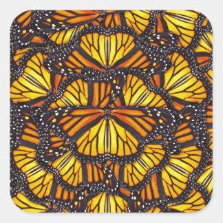 Effie's Butterflies Square Sticker