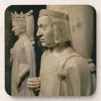 Effigies from the tomb of Charles V the Wise 13 Drink Coasters
