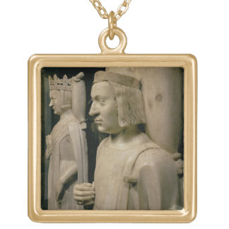 Effigies from the tomb of Charles V the 'Wise' (13 Gold Plated Necklace