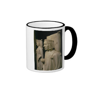 Effigies from the tomb of Charles V the 'Wise' (13 Ringer Coffee Mug